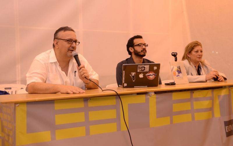 El primer conversatorio del 3° Festival de la Lectura Chacao fue organizado por Fundación Telefónica y estuvo a cargo del escritor venezolano Rodrigo Blanco.