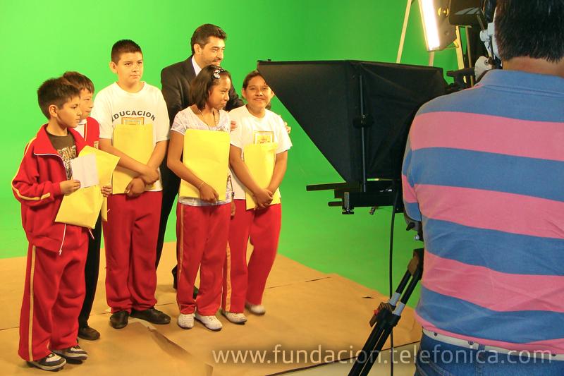 Fundación Telefónica y el Instituto Federal Electoral instruyen a los niños en el conocimiento de sus Derechos