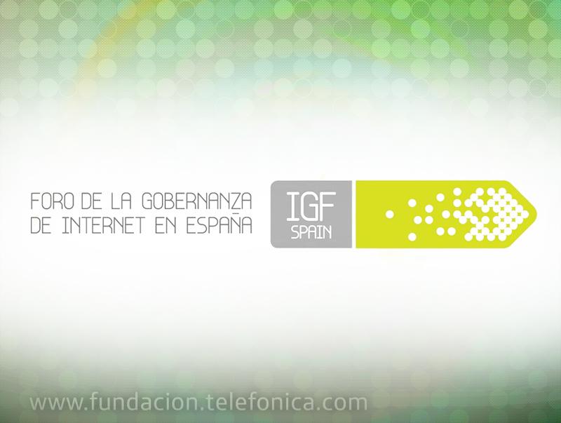Jornada anual del Foro de la Gobernanza de Internet en España
