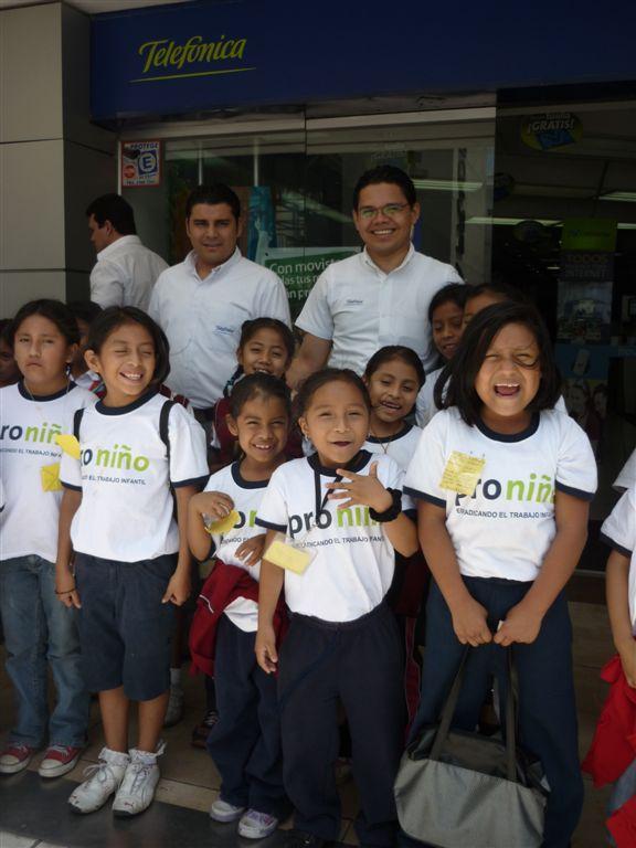 840 niños y niñas proniño participan en el XI Festival Eurocine que se llevó a cabo en reconocidas salas de cine de Ciudad Guatemala y Quetzaltenango.