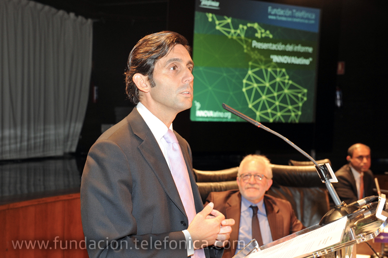 José María Álvarez-Pallete, Presidente Ejecutivo de Telefónica Latinoamérica.