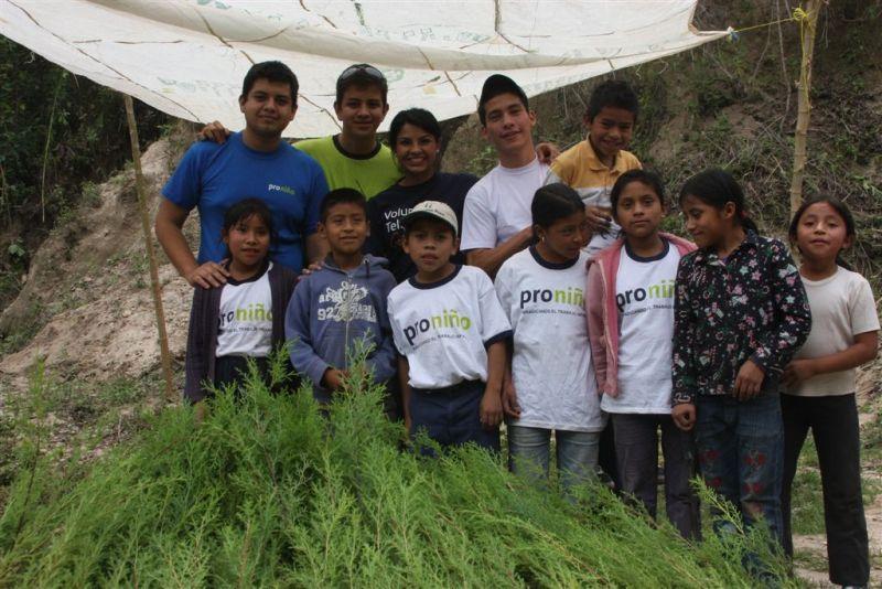 Dicha actividad se realiza en el marco de las acciones del Comité de Voluntarios encargado de las actividades relacionadas con el Medio Ambiente.