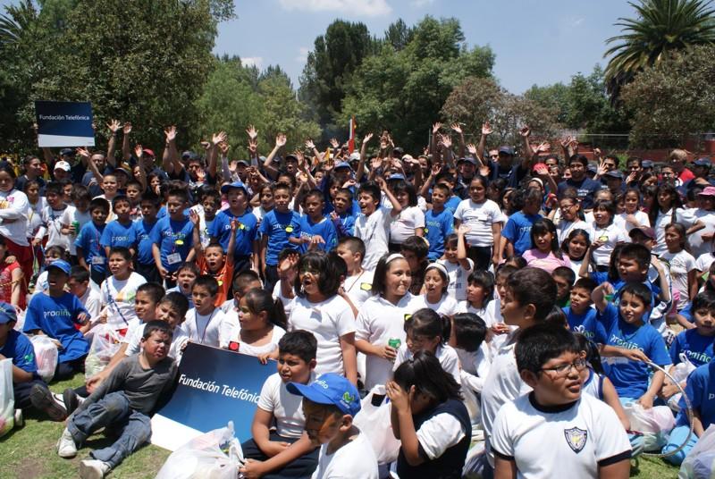 Los Voluntarios Telefónica celebran el Día del Niño
