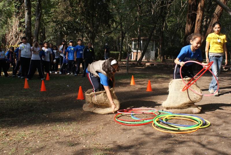 Los niños y niñas beneficiarios de Proniño festejaron su derecho a jugar y gozar de su tiempo libre