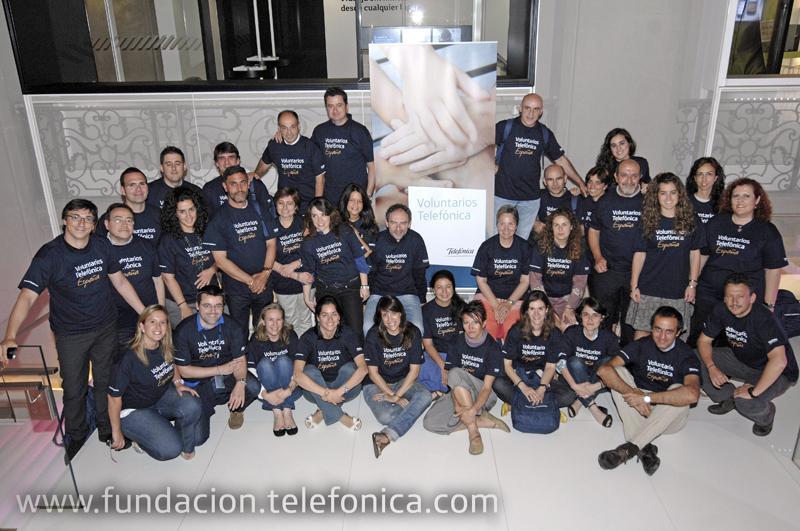 Todos los participantes en la jornada de formación celebrada el pasado sábado en el Auditorio de la Tienda de Telefónica en Gran Vía.