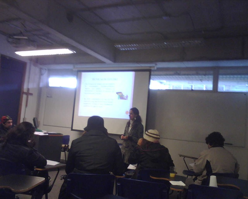 Jóvenes Fundación Telefónica Chile apuesta por dar todas las herramientas a sus beneficiarios para afrontar su nueva vida académica.