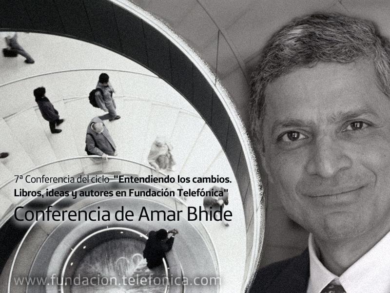 Bhidé es autor además de numerosos artículos de economía empresarial en medios como Wall Street Journal, The New York Times, BusinessWeek, Forbes,The Financial Times y The LA Times.