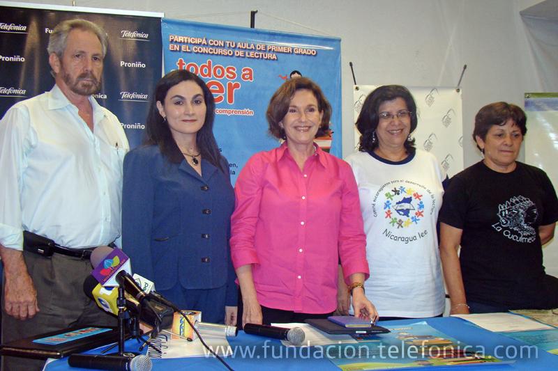 El acto de presentación del Concurso contó con la presencia de representantes de las organizaciones participantes.