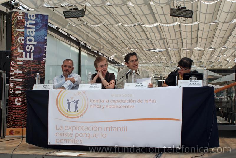 El 9 de junio se anunció la creación de la Mesa Social contra la Explotación de Niñas, Niños y Adolescentes, en la que participan 16 instituciones gubernamentales y no gubernamentales, entre ellas Fundación Telefónica.
