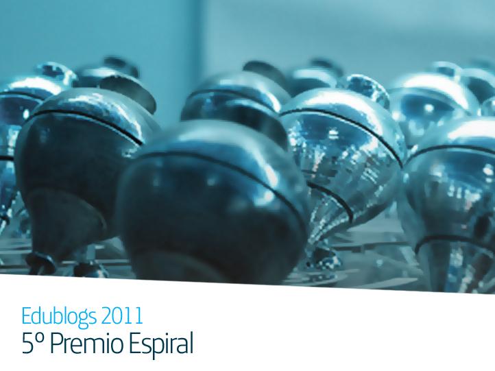 Fundación Telefónica y la Asociación Espiral reconocen los mejores blogs educativos en el V Premio Espiral de Edublogs