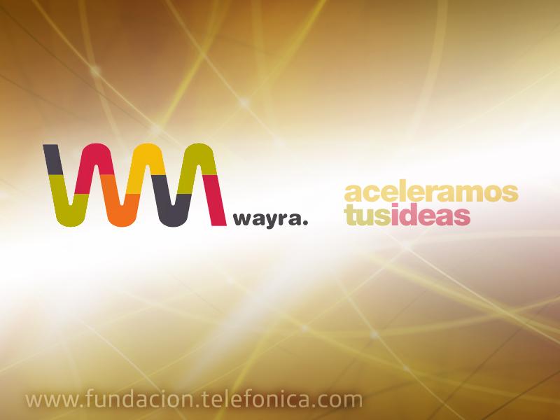 Wayra llega a España.