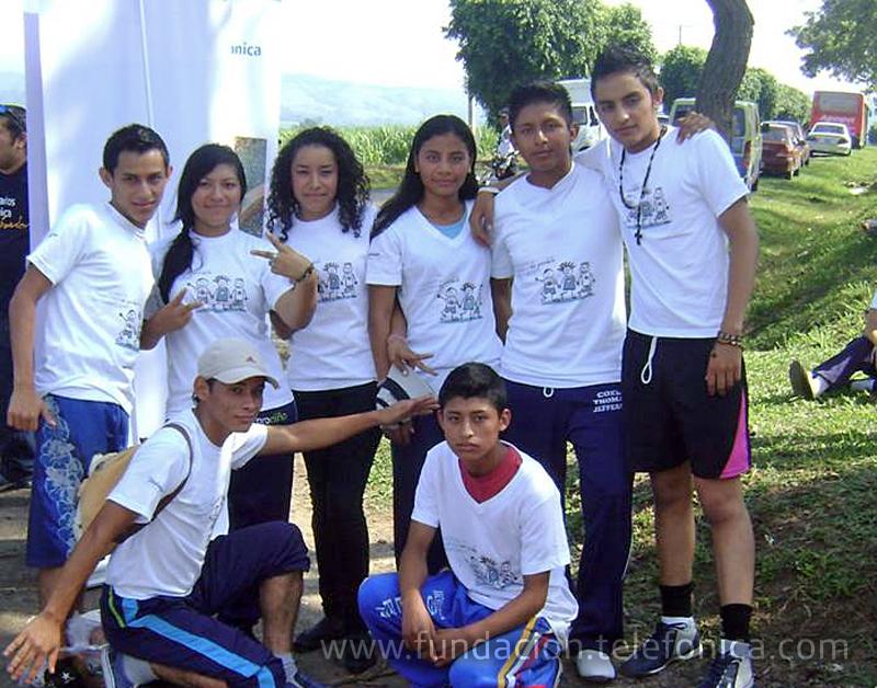 Jóvenes Fundación Telefónica participa en Jornada contra el trabajo infantil.