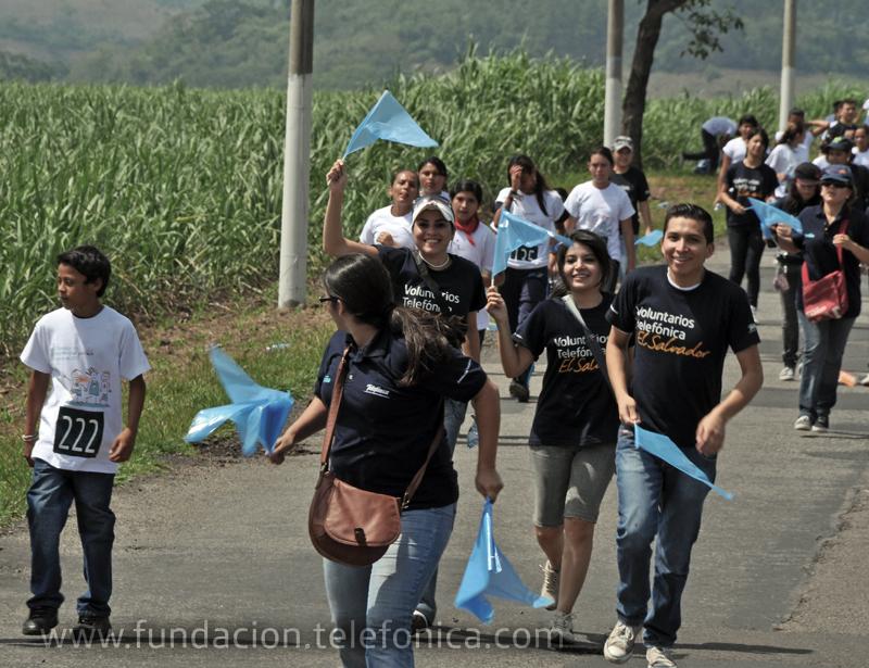 Los participantes en las carreras dijeron con su presencia NO al trabajo infantil.