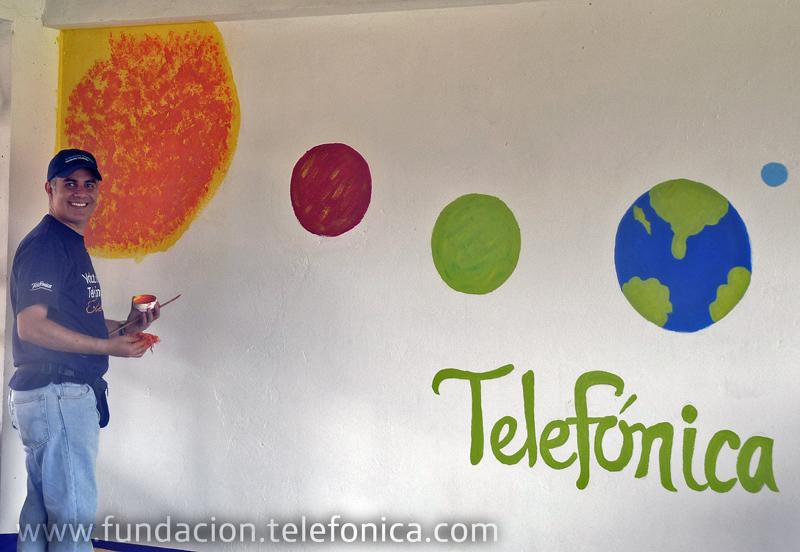 """Un grupo de gerentes colombianos, pertenecientes a Voluntarios de Telefónica, participaron en el taller """"Misión vital""""."""
