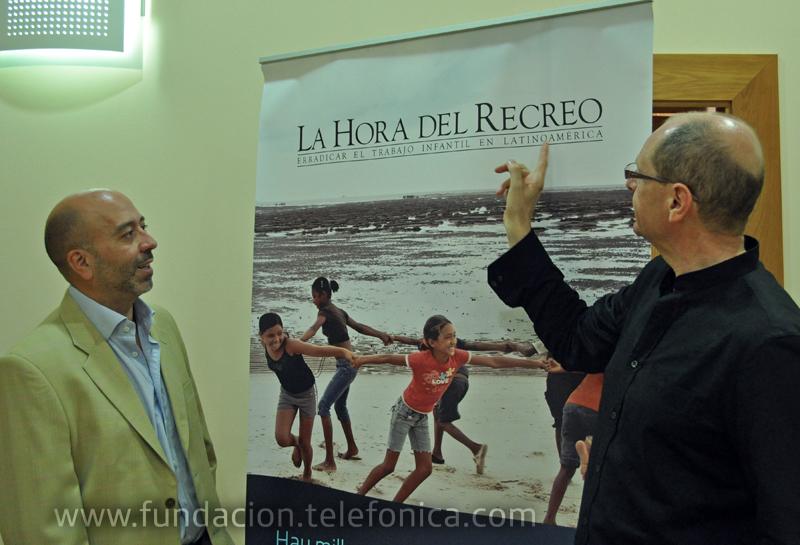 Con La Hora del Recreo, Fundación Telefónica ha querido plasmar una realidad social, que a menudo pasa desapercibida pero que afecta a más de 14 millones de niños y niñas que se ven obligados a trabajar en Latinoamérica.