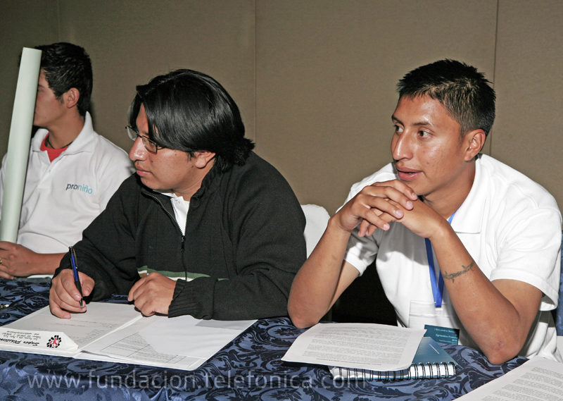 Iván Huilcapi y Rafael Santiago Ortega.