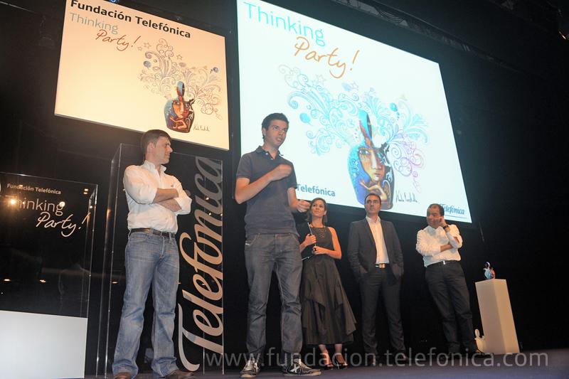 Más de 400 personas disfrutan de la segunda edición de la Thinking Party de Fundación Telefónica