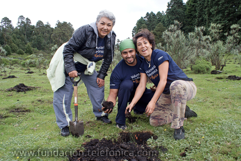 La actividad se llevó a cabo en la Comunidad de Santa María del Monte.