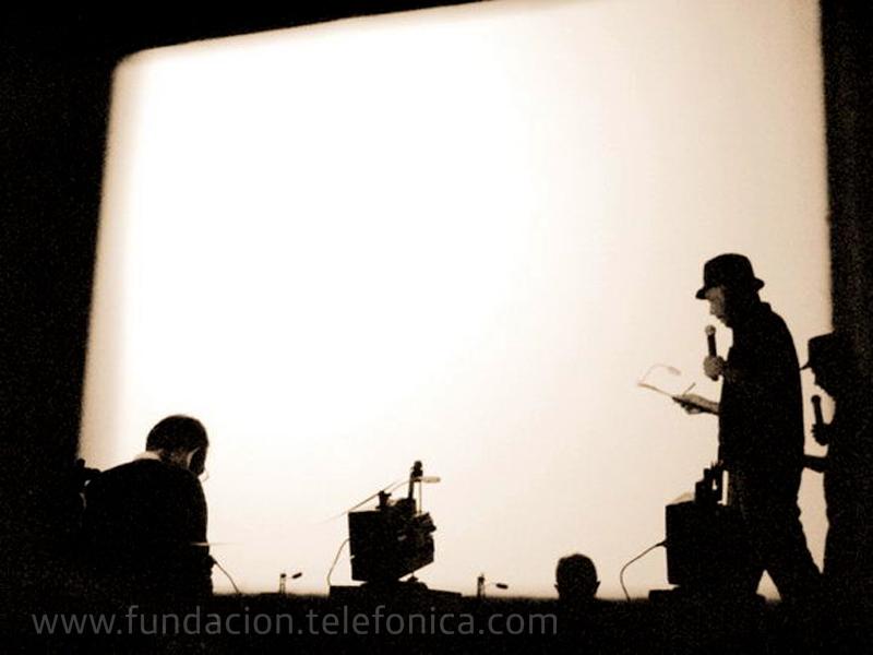 """Espacio Fundación Telefónica presenta """"Hachazos"""", una performance de Andrés Di Tella y Claudio Caldini"""