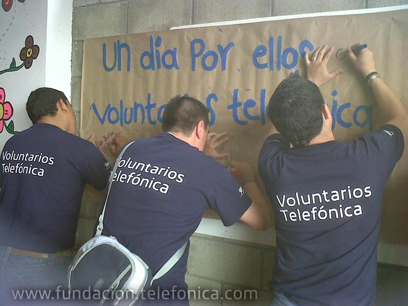 Gracias a al trabajo de los Voluntarios Telefónica, las ludotecas están completamente equipadas y listas para ser utilizadas.