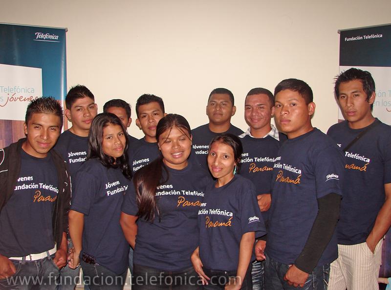 Aspirantes a las becas de Jóvenes Fundación Telefónica