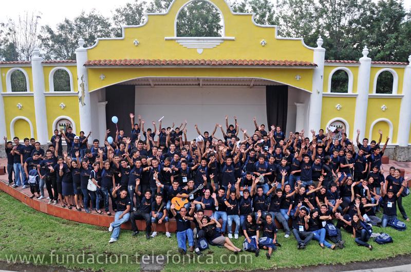 183  jóvenes de El Salvador participaron en el segundo encuentro organizado por Fundación Telefónica.