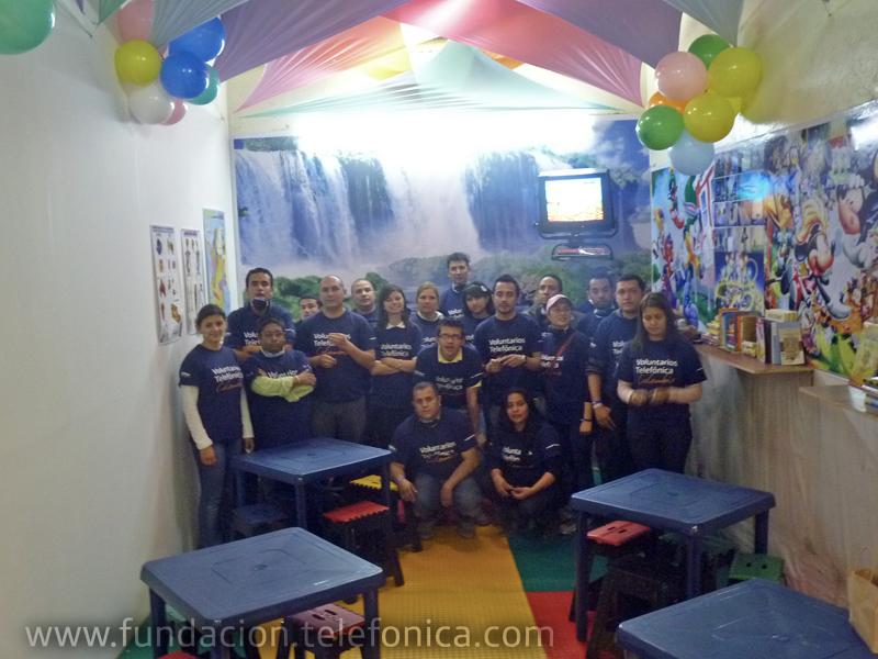 El grupo de Voluntarios Telefónica pertenece a la Vicepresidencia de Negocios en su dirección de ventas