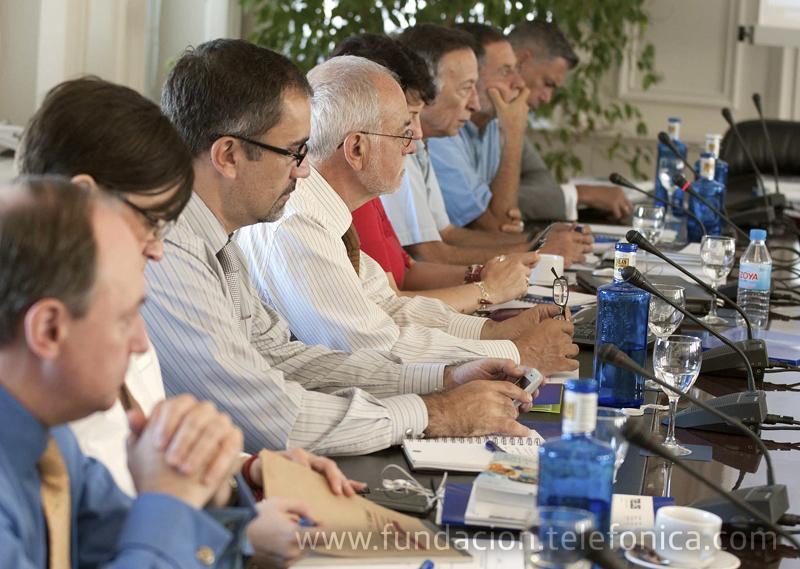 La reunión fue presidida por Javier Nadal, Vicepresidente Ejecutivo de Fundación Telefónica.