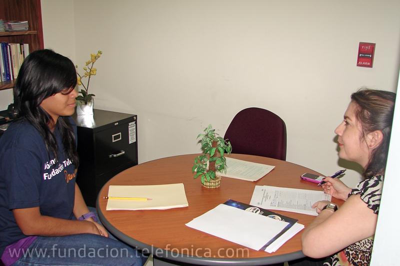 Un grupo de miembros de la red de Jóvenes Fundación Telefónica en Venezuela participará en un taller dedicado a cómo preparar correctamente una entrevista de trabajo