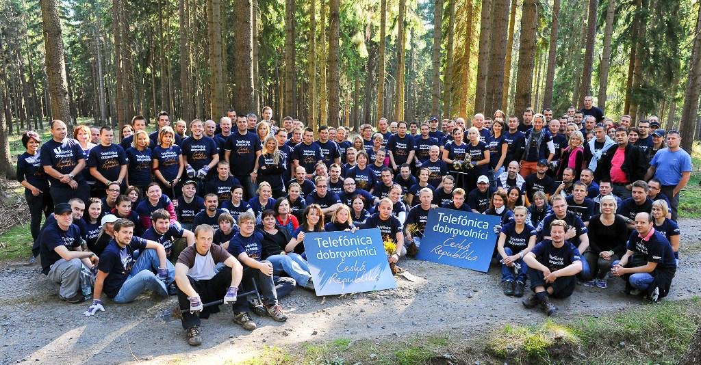 10.300 voluntarios participaron en el Día Internacional del Voluntario Telefónica.