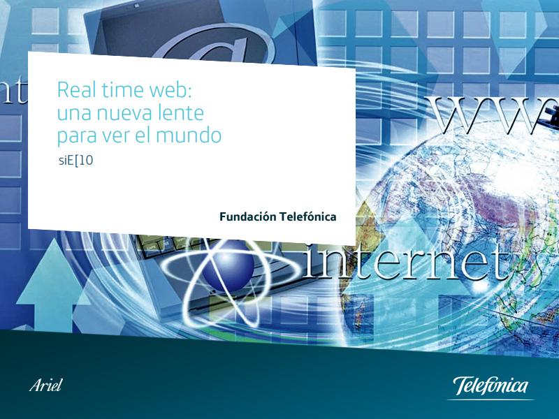 Portada Real Time Web: una nueva lente para ver el mundo.