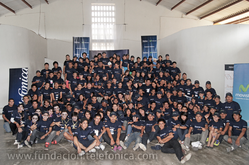 Fundación Telefónica ha celebrado la segunda edición del Encuentro Nacional de Jóvenes en Manabí (Ecuador), reuniendo a 250 personas de 12 provincias.