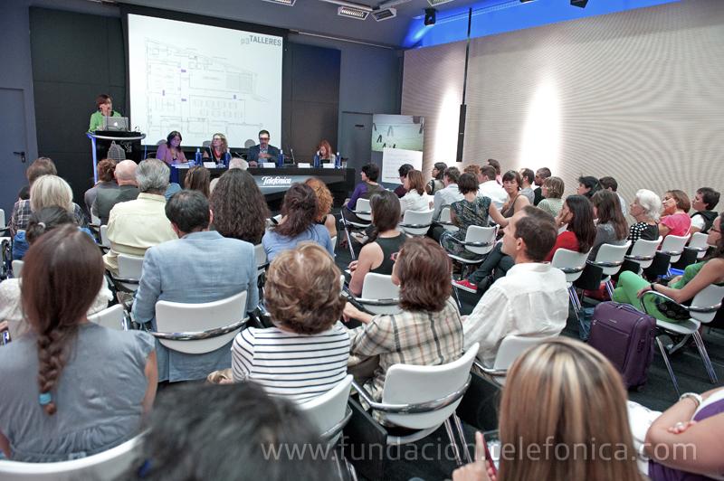 La presentación se celebró en el Auditorio de la Tienda de Telefónica, en Gran Vía, 28.