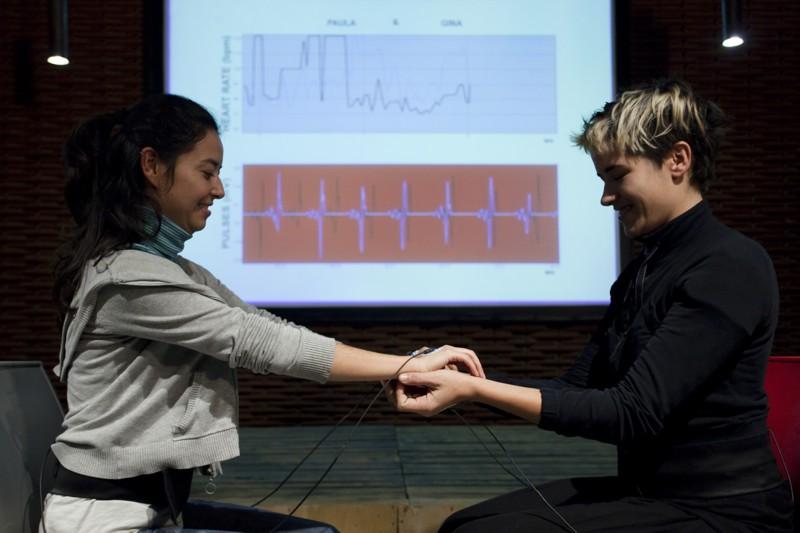 """El encuentro se desarrolló bajo el subtítulo de """"Piel emocional. Performance y espacios sensoriales"""""""
