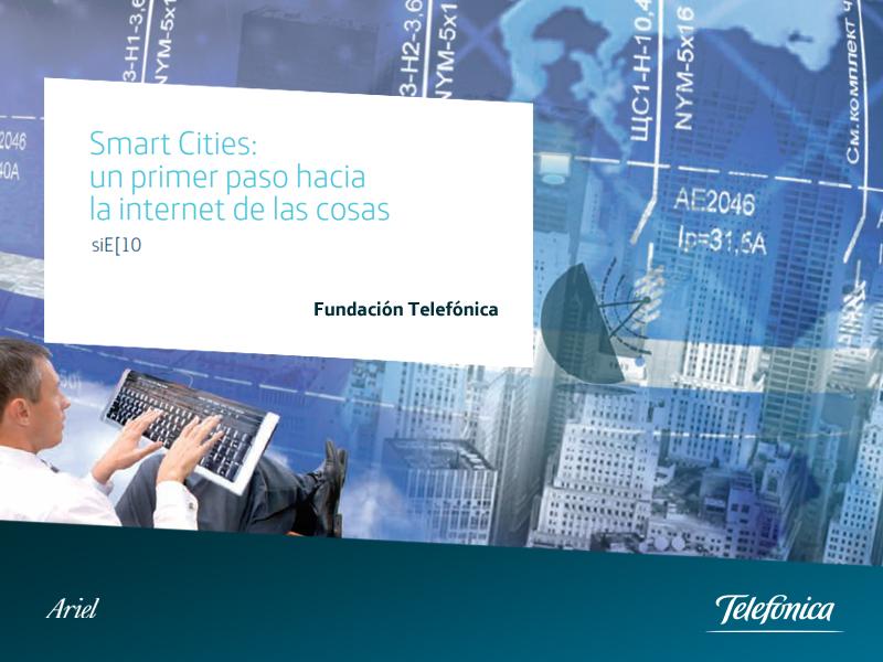"""Presentación en Santander del informe """"Smart Cities: un primer paso hacia la Internet de las cosas""""."""