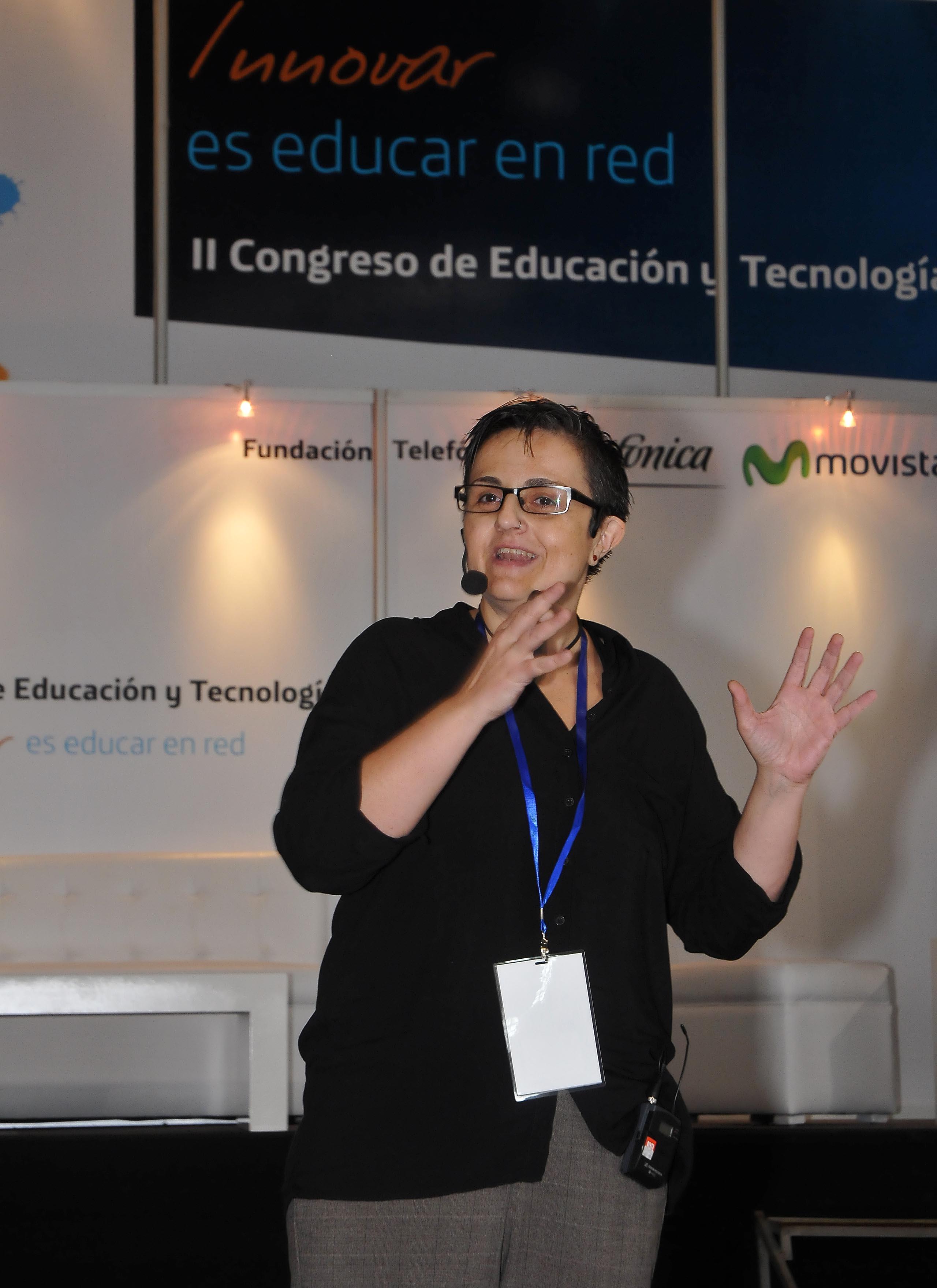 Dolors Reig (España) experta en educación 2.0 y redes colaborativas de aprendizaje.