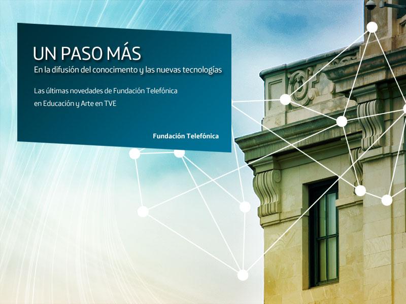 Si quieres conocer la labor de Fundación Telefónica te esperamos el viernes 25 de noviembre en La 2 de Televisión Española