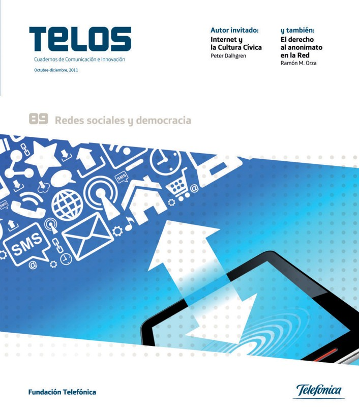 La revista TELOS dedica su número 89 a la relación entre democracia y redes sociales
