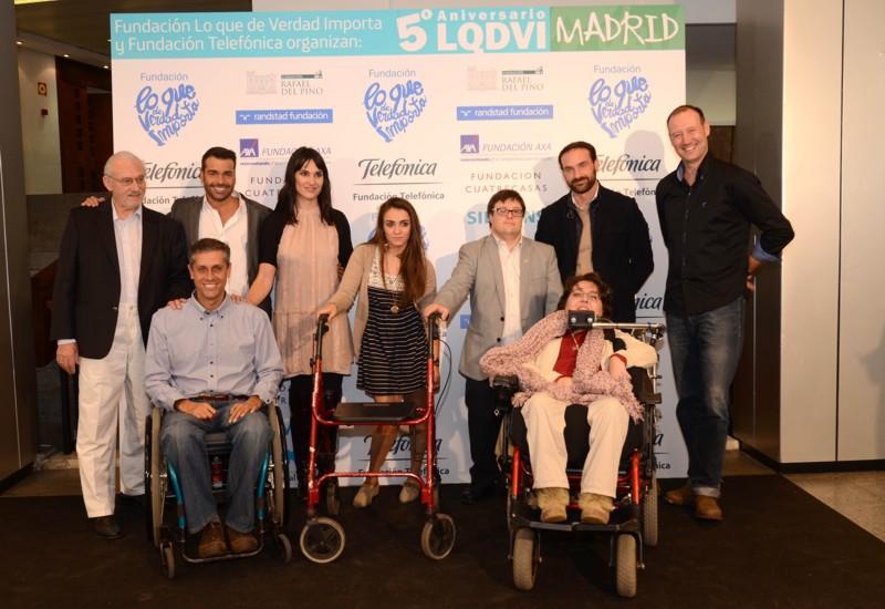 Participantes del Congreso LQDVI en Madrid