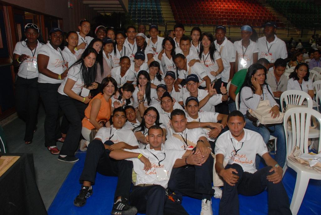 Este evento de Fundación Telefónica se realizó en el marco de la II Cumbre Mundial de Voluntariado Juvenil, cumbre que reunió a 700 jóvenes de todo el mundo.