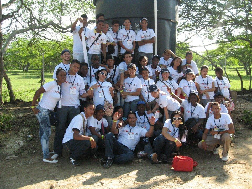 37 jóvenes de nuestra red internacional se reunieron en Barranquilla procedentes de 15 ciudades del país.