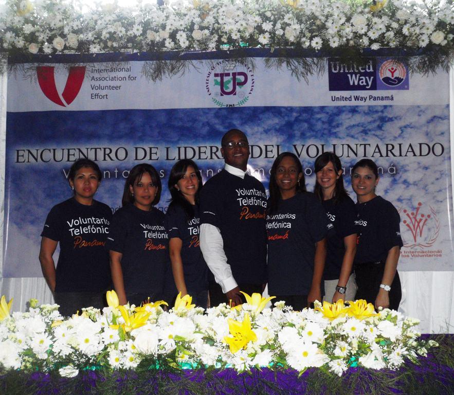Los Voluntarios Telefónica de Panamá participan en el Primer Encuentro de Líderes del Voluntariado