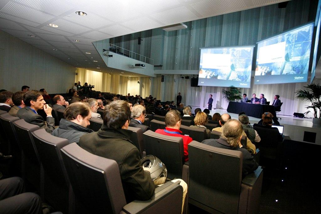 La presentación del informe se desarrolló en Barcelona, en Torre Telefónica Diagonal 00
