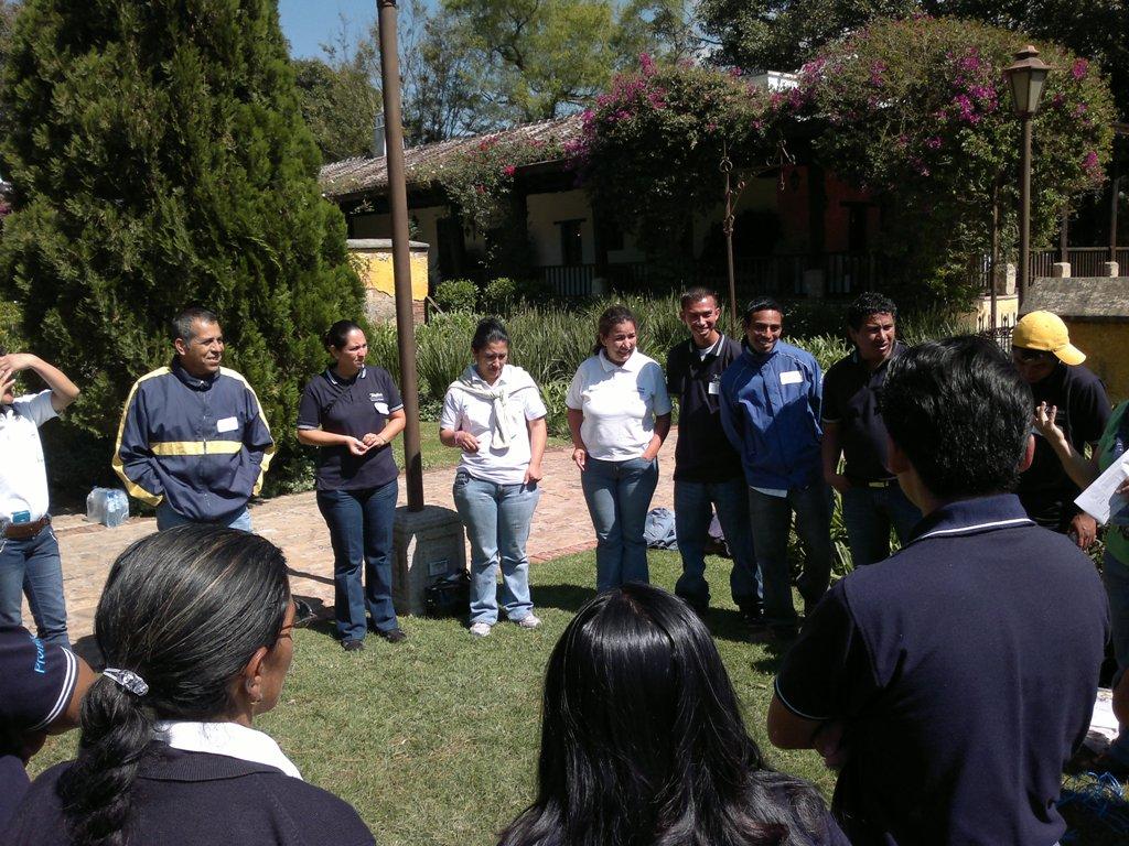 Durante la convención se desarrollaron diferentes actividades al aire libre.