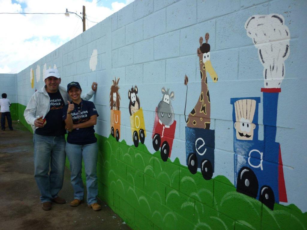 Los Voluntarios muestran su trabajo final