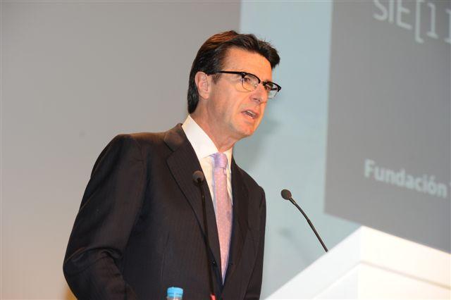 José Manuel Soria, ministro de Industria, Energía y Turismo, ha presidido el acto de presentación del Informe.