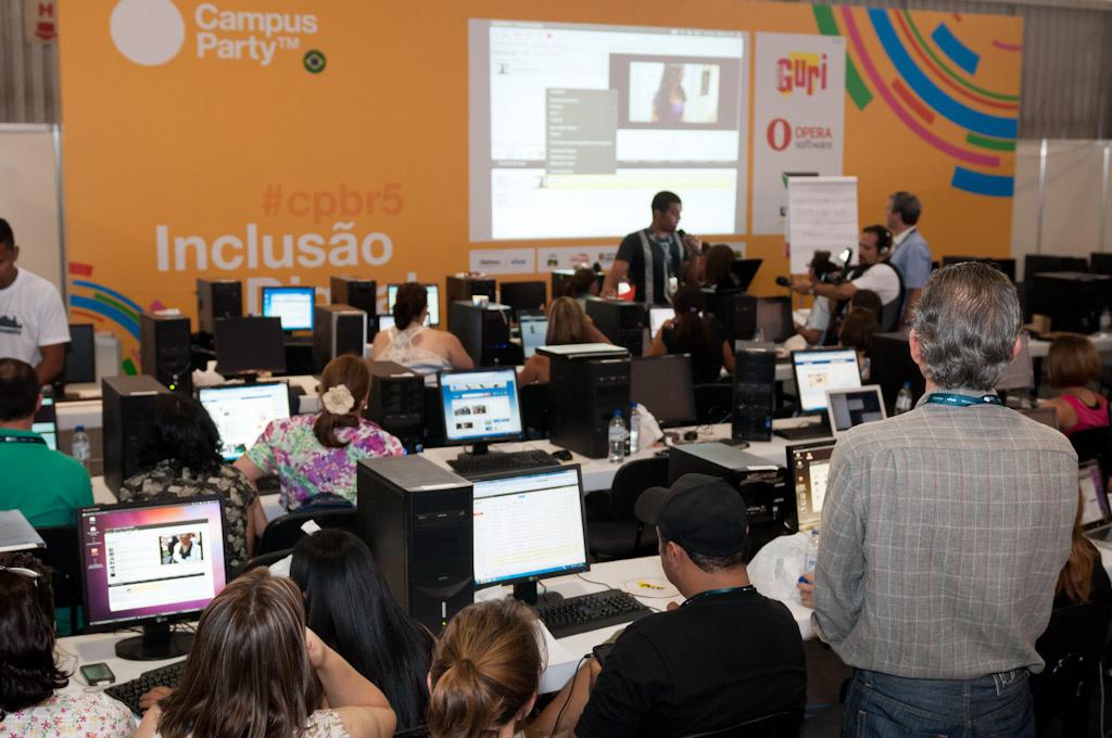 EducaParty se celebró en el marco de la Campus Party 2012 recientemente celebrada en Sao Paulo.