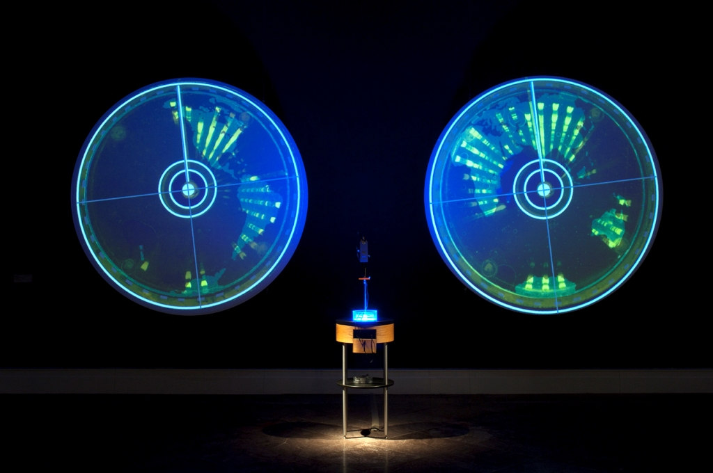 Ocular Revision (2010). Paul Vanouse (EE.UU). Segundo premio.