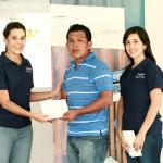 La ceremonia de entrega coincidió con el I Encuentro Nacional de Jóvenes Fundación Telefónica Panamá.