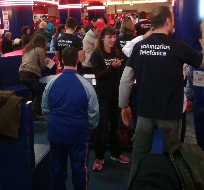 Voluntarios de telefónica acompañarán a jóvenes en riesgo de exclusión